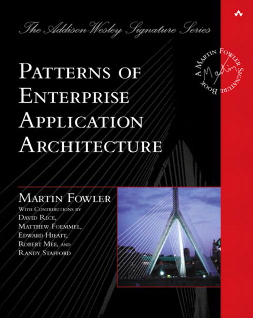Patterns of Enterprise Application Architecture — Martin Fowler